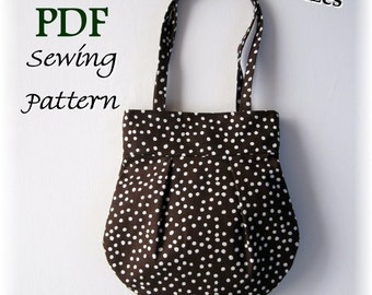 The Broadway Purse PDF Sewing Pattern and Tutorial - Easy to Make - 2 Sizes - SALE PRICE
