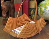 Bamboo Basket - Simple Vintage Decor