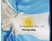 8x8  Argentina flag in movement  ttv fine art photography home decor wall decor