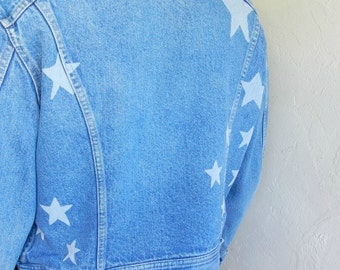Starred Vintage Lee Denim Jacket