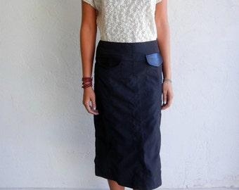 Vintage Beige Slub Knit Sweater Top