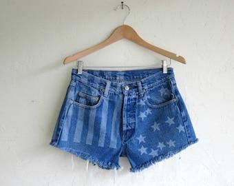 "Levi's ""Stars & Stripes"" Shorts"
