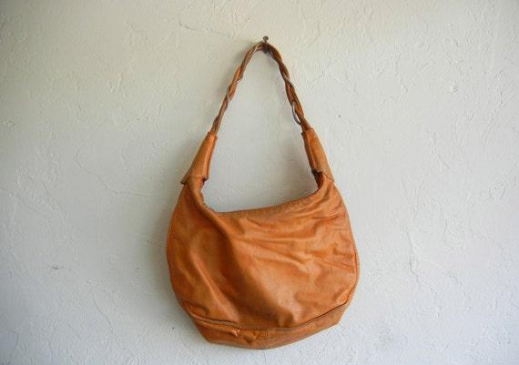 Vintage Burnt Orange Leather Purse
