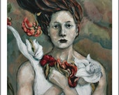 Inspired  CarrieJoyArt Fine Art Print