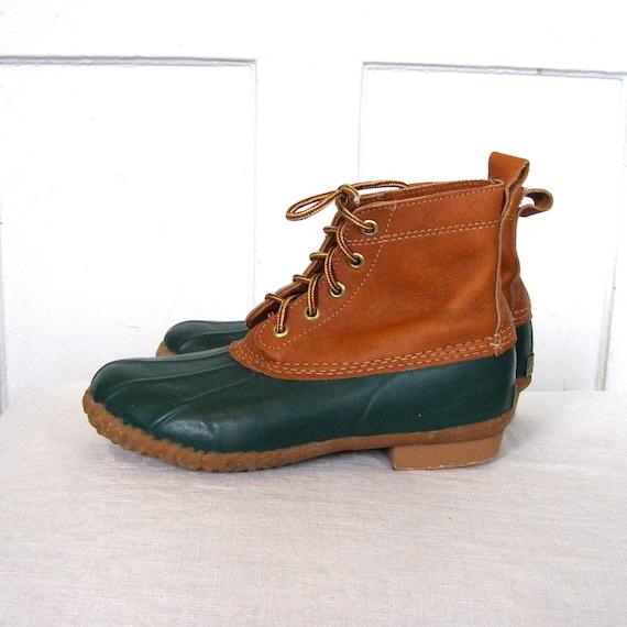 Ankle High Duck Boots By Eddie Bauer Women S 7