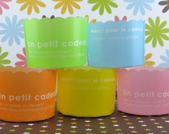 Colorful Baking Cups Set