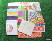 Japanese Yuzen Washi Paper - Chiyogami Sample Pack - 79 sheets