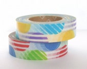 mt Washi Masking Tape - Red & Purple Arch - Set 2 (15m rolls)