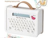 coharu Masking Tape Label Printer Set - Free Shipping