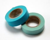 mt Washi Masking Tape - Sky & Fountain Blue - Set 2 (15m rolls)