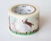 mt Washi Masking Tape - Jumping Rabbit - Limited Edition
