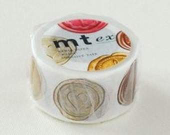 mt ex Washi Masking Tape -  Royal Wax Seal (15m roll)