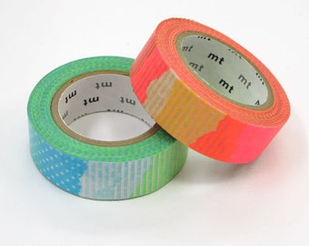 mt Washi Masking Tape - Patch E & F - Set 2