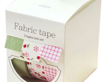 Nuage Fabric Masking Tape - Afresh - Set 3