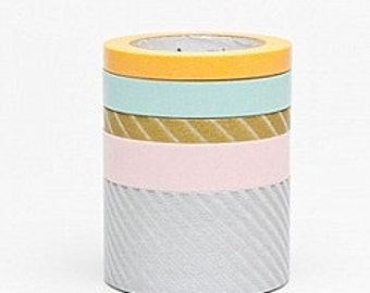 mt Washi Masking Tape - Suite O - Set 5