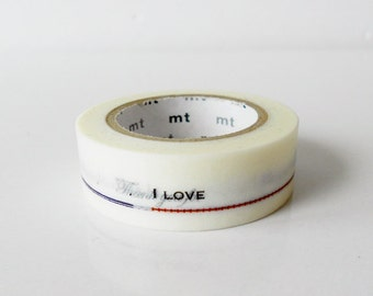 mt Washi Masking Tape - English Messages - Limited Edition