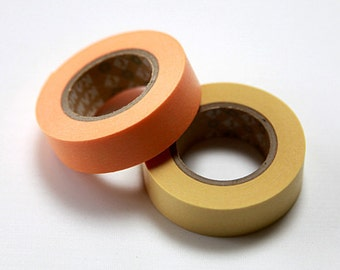mt Washi Masking Tape - Custard (15m roll)