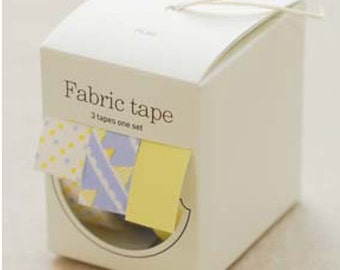 Nuage Fabric Masking Tape - Flag - Set 3