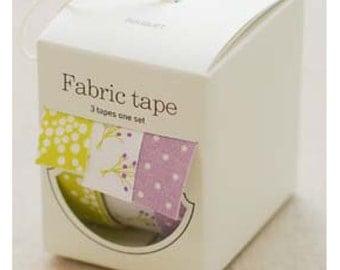 Nuage Fabric Masking Tape - Bouquet - Set 3
