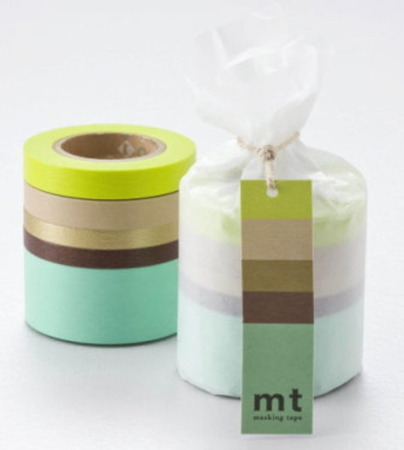 mt Washi Masking Tape - Suite A - Set 5
