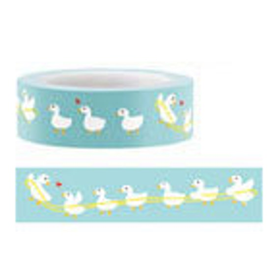 Funtape Masking Tape - Baby Ducks - Japanese