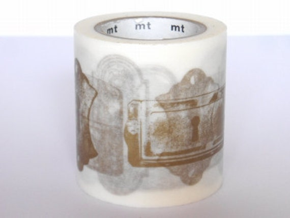 mt Washi Masking Tape - Antique Lock - Limited Edition