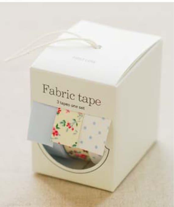 Nuage Fabric Masking Tape - First Love - Set 3