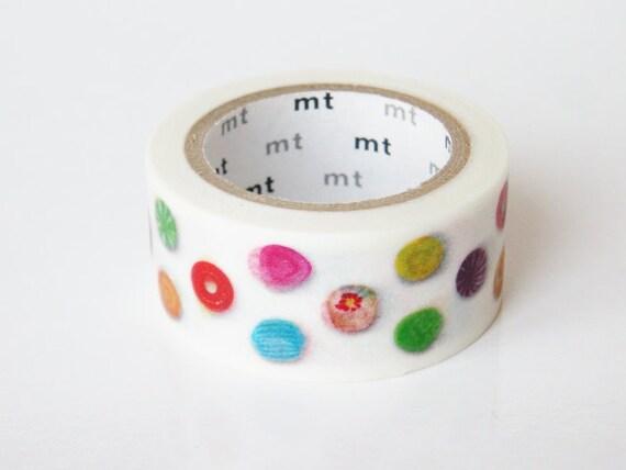 mt Washi Masking Tape - Candy Dot - Limited Edition