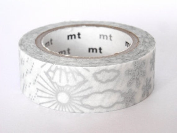 mt Washi Masking Tape - Silver Weather - Limited Edition