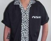 Men's Rockabilly Shirt Dice