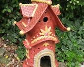 The Bavarian Toad House-Garden, Fairy,Gnome