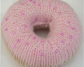 Pink Iced Doughnut