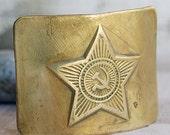 vintage brass buckle   accessories  Mar 10