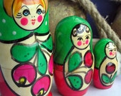 3 in 1... Matryoshka  nesting doll... HOME DECOR...  Apr 04
