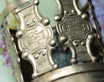 vintage metal glass holder... Home Decor... Jun 10