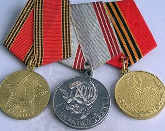 three vintage military  badges...  JEWELRY    Mar 24/1