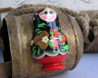 SALE...  Matryoshka magnet Russian style...       Apr 04