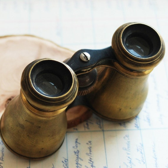 antique opera glasses...  to use in your display mixed media JEWELRY or in any way you would want Apr 7