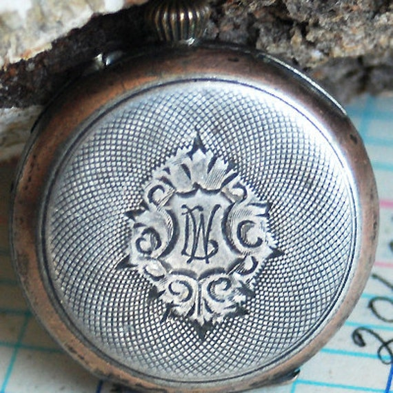 vintage pocket watch...    to use in your  mixed media Steampunk or Geek jewelry or in any way you would want to  May 10