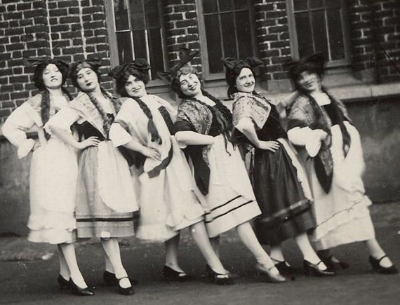Dance Moms...Vintage Photograph from Europe