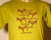 NYC THE 5 BURROUGHS shirt