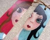 Best Friends Handmade Whimsical Bookmark Set