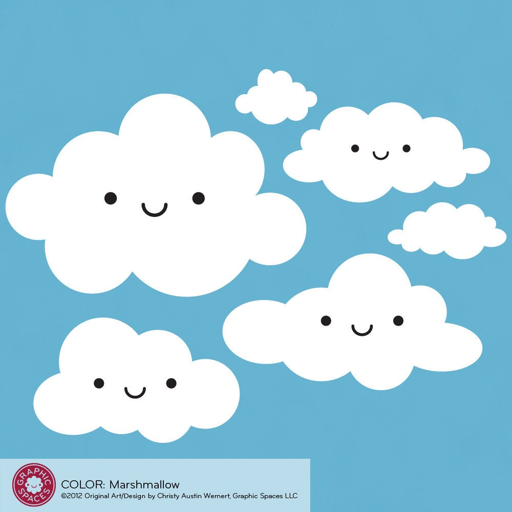 Happy Cloud Decals for...