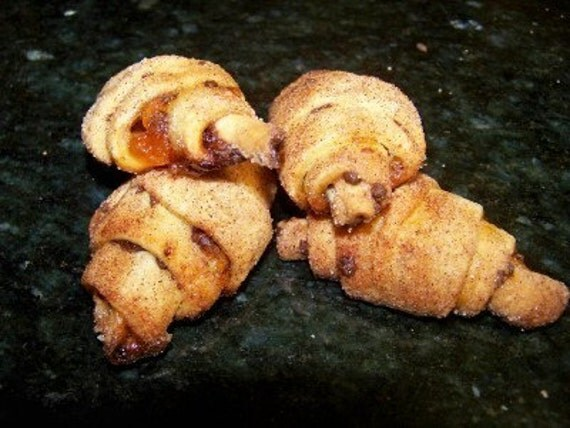 Apricot Chocolate Rugelach