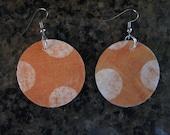 Big Orange earrings