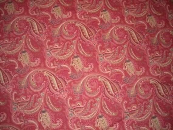 Cranston Village Fabric VIP Paisley Print