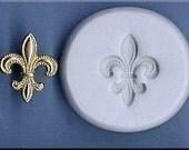 Classic Fleur De Lis 359 Handmade Polymer Clay Mold