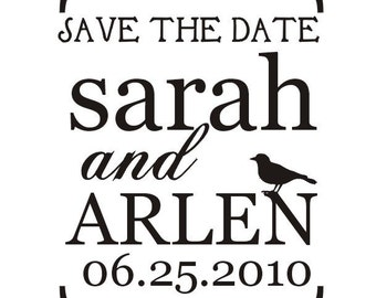 Sweet Save the Date stamp