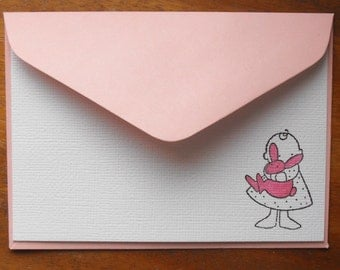 Little girl noteset