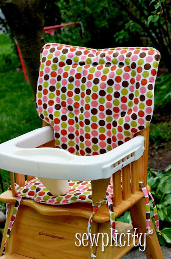 EDDIE BAUER High Chair Cover  - Indian Summer